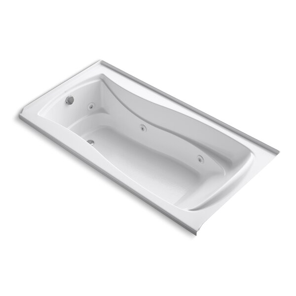 Mariposa 72 x 36 Whirlpool Bathtub by Kohler