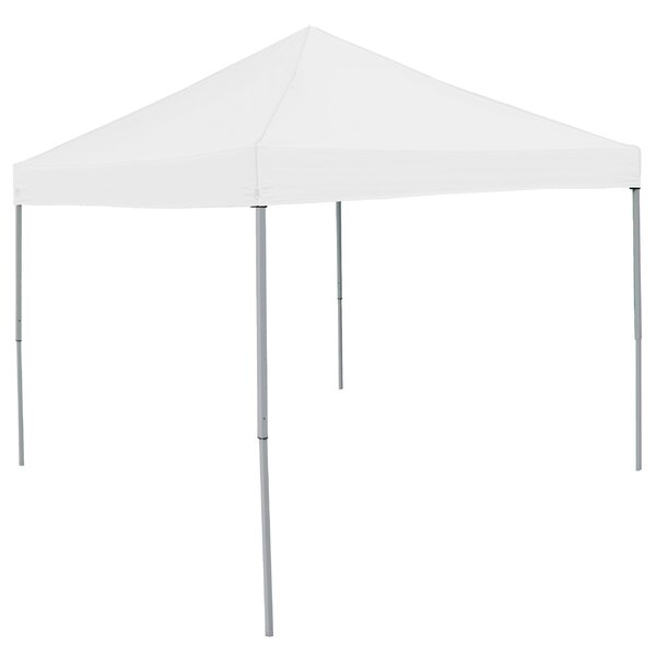 Economy Tent 9 Ft. W x 9 Ft. D Pop-Up Canopy by Lo