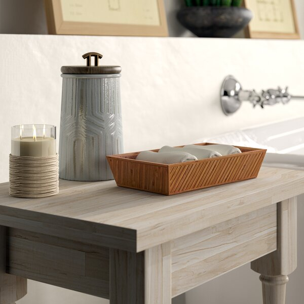Bedford Bathroom Accessory Tray by Greyleigh