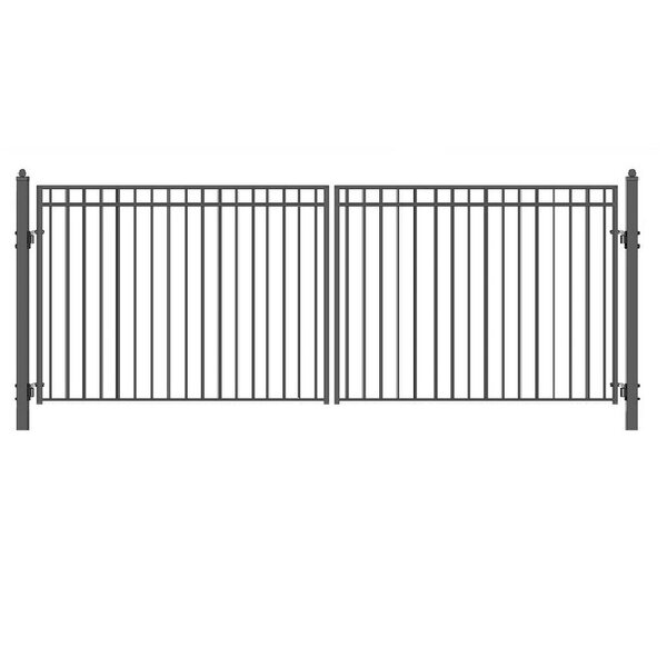 Madrid Steel Dual Swing Driveway Gate by ALEKO