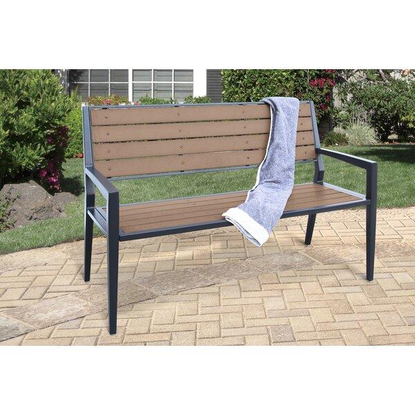 Gouveia Metal Garden Bench