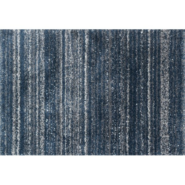 Gimenez Navy/Pewter Area Rug by Williston Forge