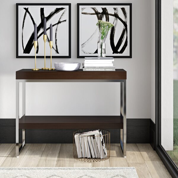 Oconnell 39-inch Console Table by Mercury Row Mercury Row