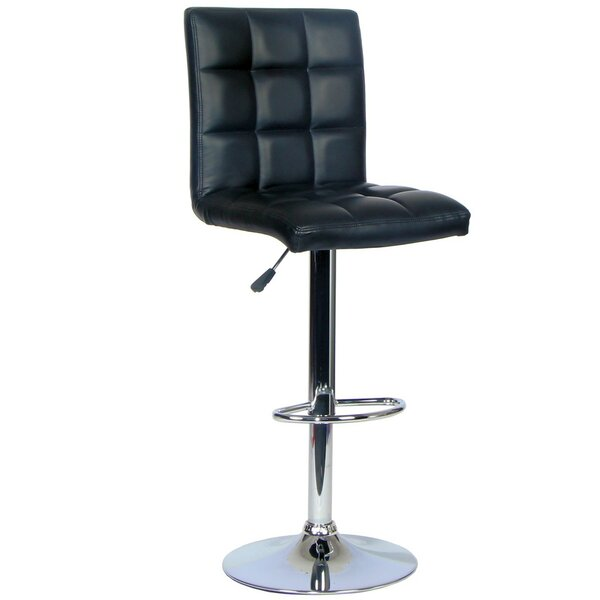 Claudette Adjustable Height Swivel Bar Stool by Symple Stuff Symple Stuff