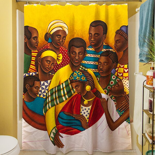 Family Photo Shower Curtain by Manual Woodworkers & Weavers