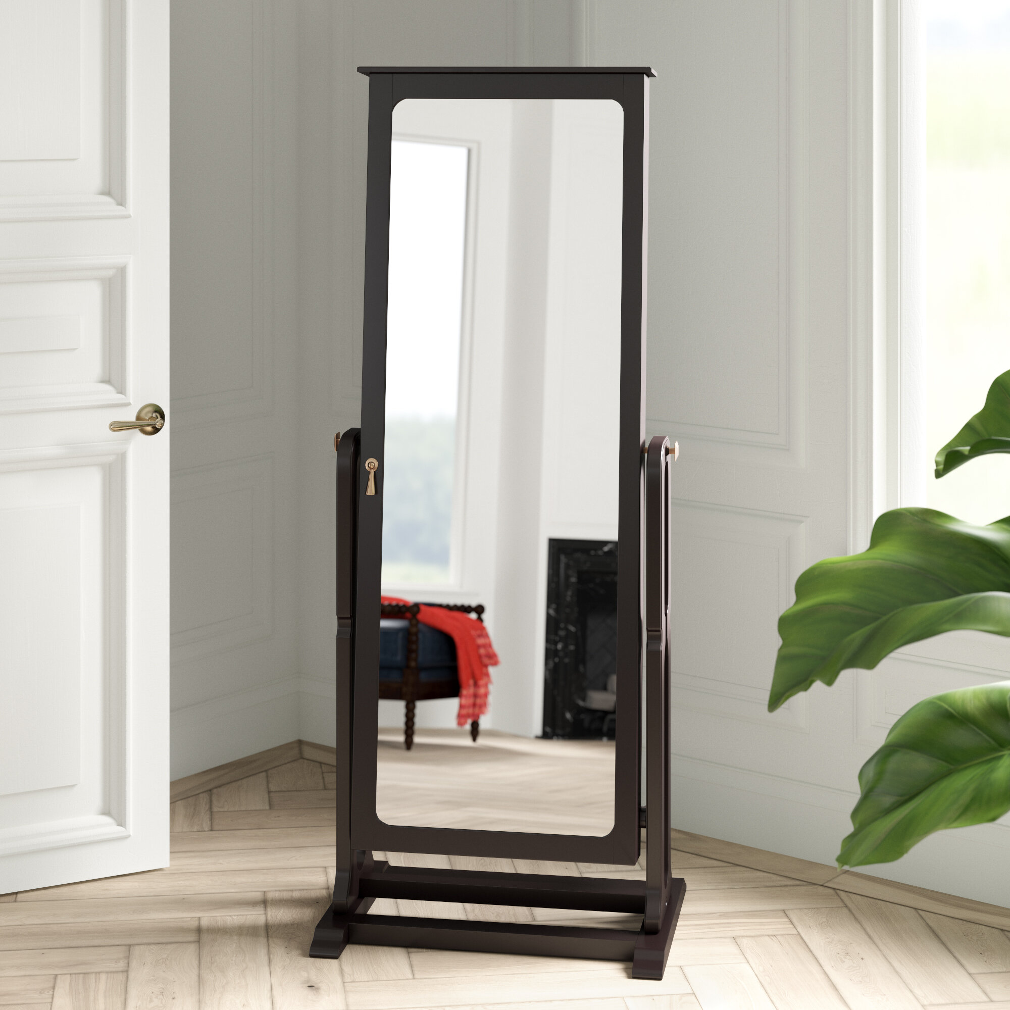 Armoire D Angle Dressing black jewelry armoires you'll love in 2020 | wayfair