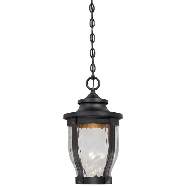 Urbanski 1-Light Outdoor Hanging Lantern by Charlton Home