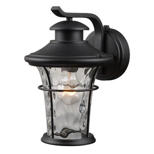 Photocell included outdoor wall lighting youll love wayfair 1 light outdoor wall lantern aloadofball Choice Image