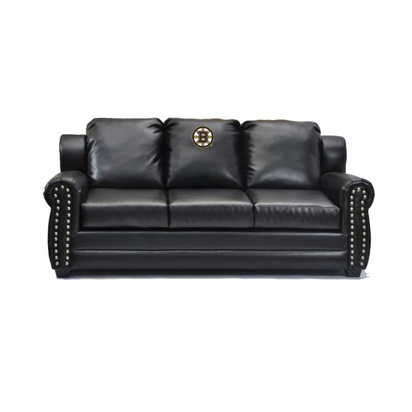 NHL Coach Leather Sofa by Imperial International