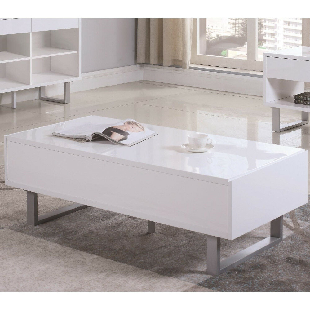 - Ivy Bronx Nolanville Contemporary Coffee Table With Storage Wayfair