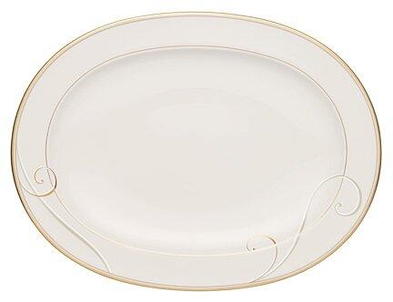 Golden Wave Platter by Noritake