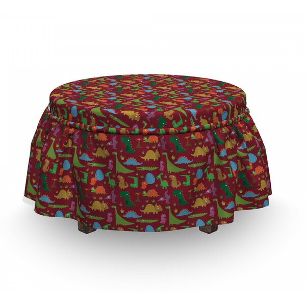 Review Box Cushion Ottoman Slipcover
