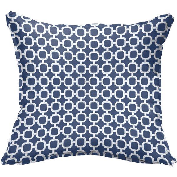 Peletier Flange Square Indoor/Outdoor Throw Pillow (Set of 2) by Breakwater Bay
