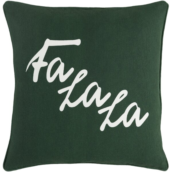 Doyon Cotton Throw Pillow Cover by The Holiday Aisle