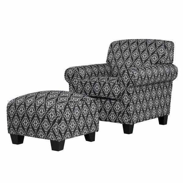 Hummel Armchair And Ottoman By Alcott Hill by Alcott Hill Best Choices