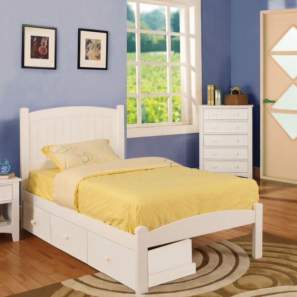Caren Mate's Bed with Drawers by Hokku Designs