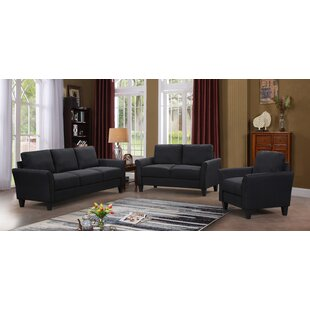 3 Pieces Standard Living Room Set by Red Barrel Studio®