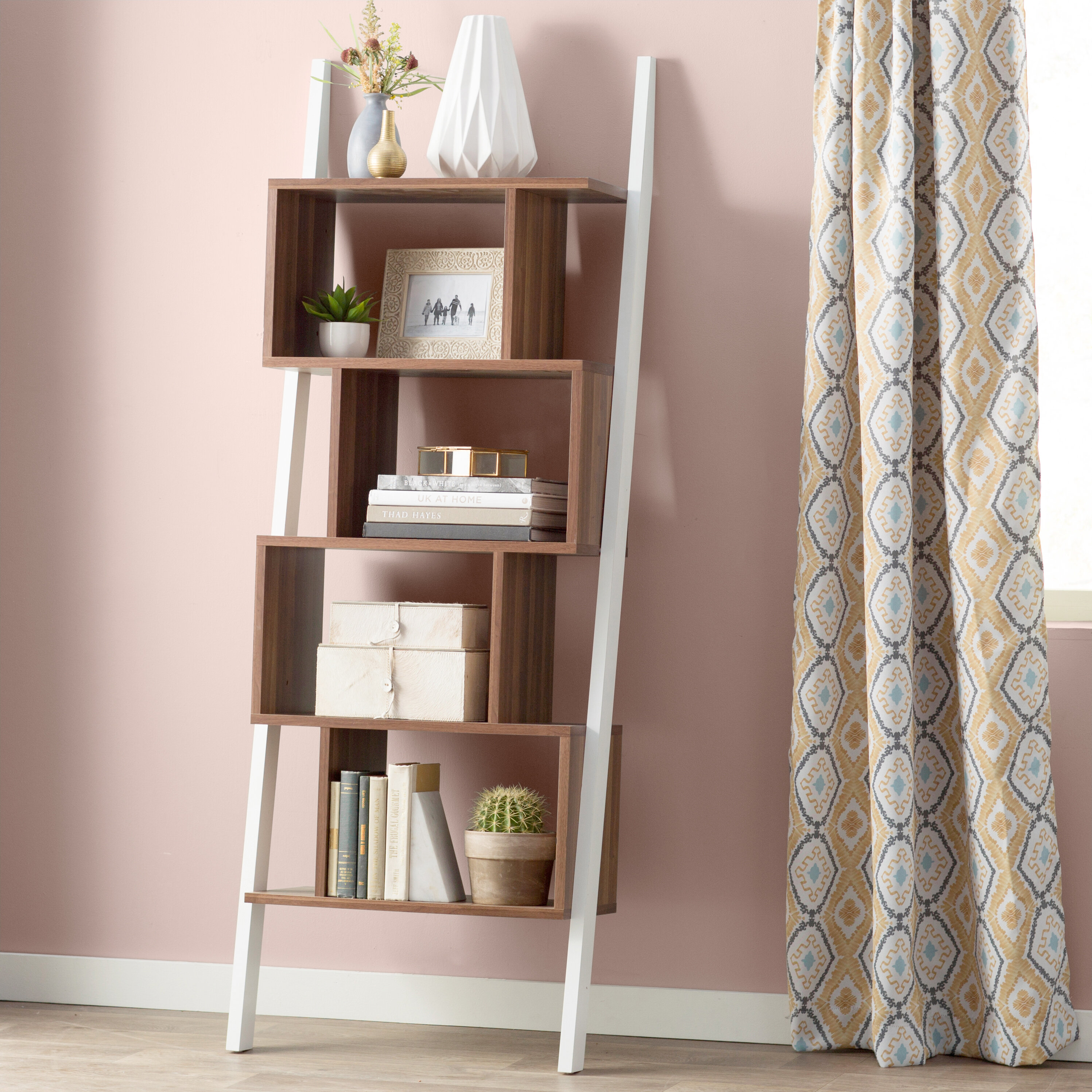 Bostic Geometric Bookcase