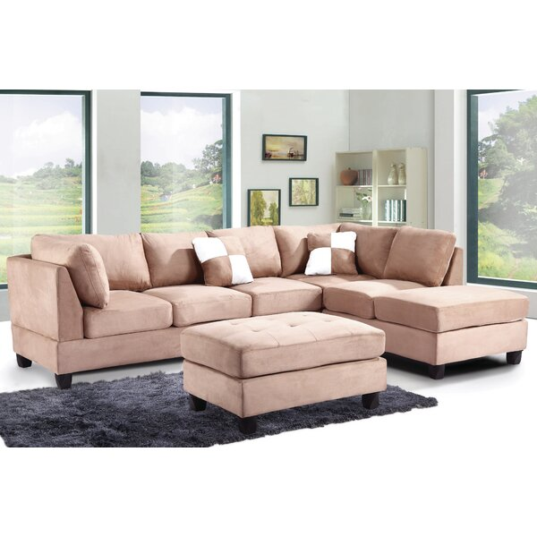 Bruns 111-inch Reversible Sectional by Winston Porter Winston Porter