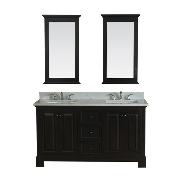 Cothern 60 Double Bathroom Vanity Set by Red Barrel Studio