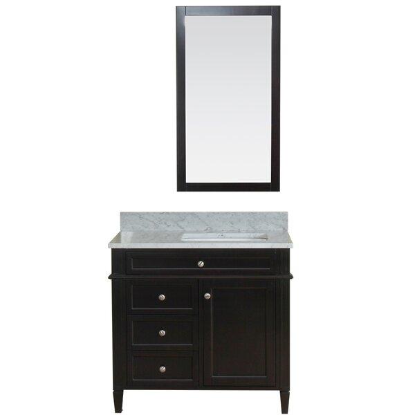 Costillo 36 Single Bathroom Vanity Set with Mirror by Red Barrel Studio