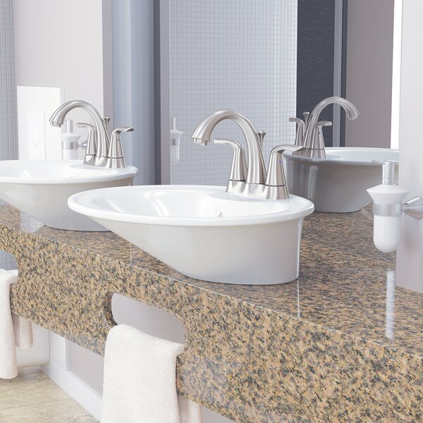 Bristol Centerset Bathroom Faucet With Drain Assembly By Windon Bay