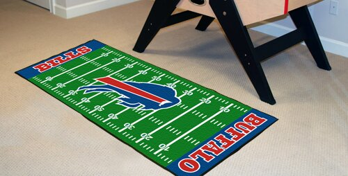 NFL - Buffalo Bills Football Field Runner by FANMATS