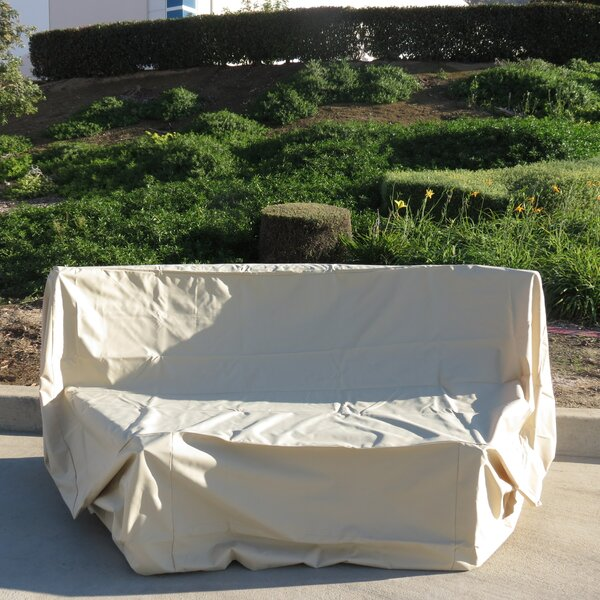 Patio Bench Cover by Freeport Park