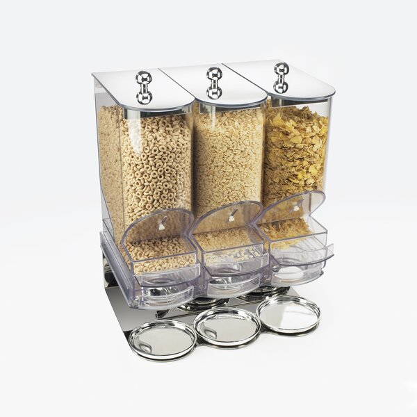 332 Oz. Single Canister Elite Cereal Dispenser by Cal-Mil