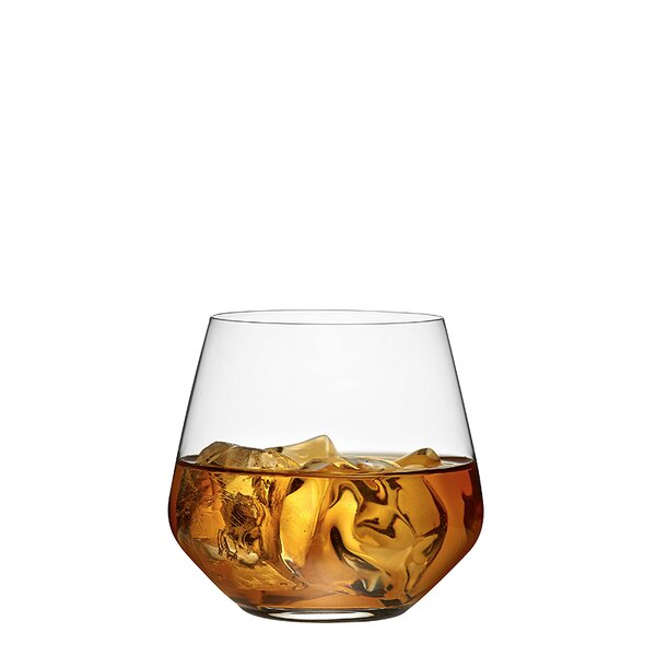 Charisma Whiskey 13 oz. Glass Cocktail Glasses (Set of 4) by RONA