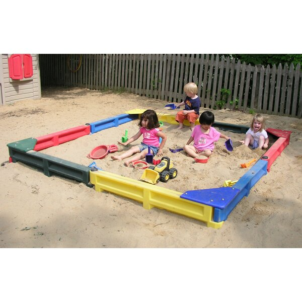 8 ft Square Sandbox by Kidstuff Playsystems, Inc.