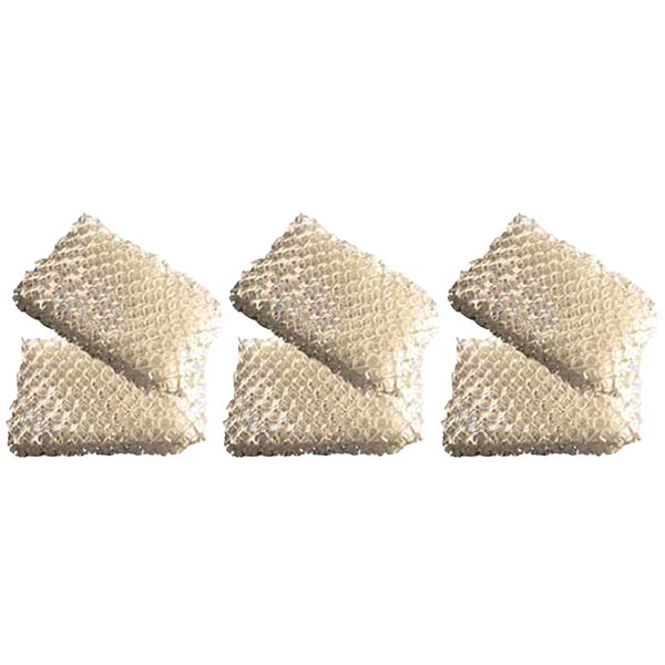 Honeywell Wick Humidifier Filter (Set of 6) by Crucial