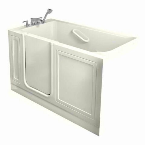 51 x 31 Walk In Combo Whirlpool Bathtub by American Standard