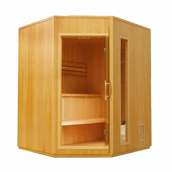 4 Person Traditional Steam Sauna by ALEKO