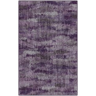 Fosse Plum Vintage Abstract Purple Area Rug