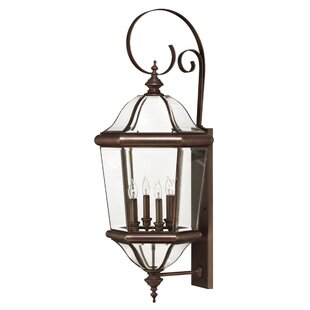 Compare prices Augusta 4-Light Outdoor Wall Lantern By Hinkley Lighting