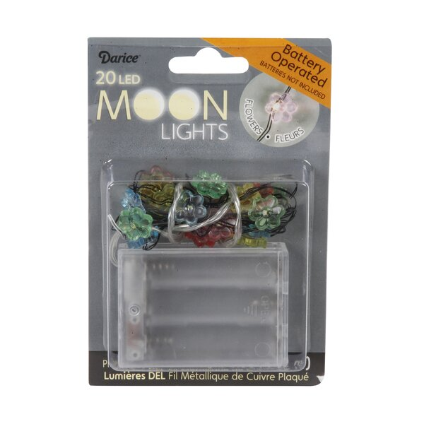 Moon LED 20 Light String Lights by Darice