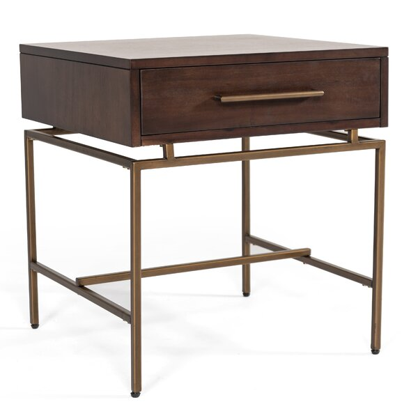 Dutta End Table With Storage By Brayden Studio