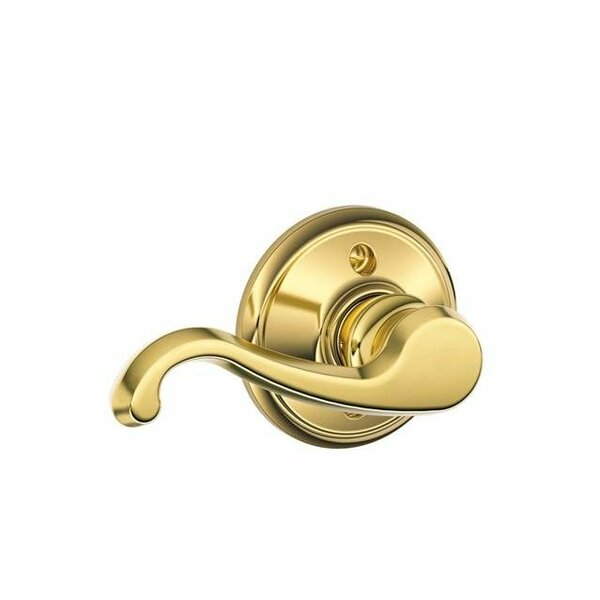 Interior Non-Turning Callington Lever and Interior Inactive Deadbolt Thumbturn by Schlage
