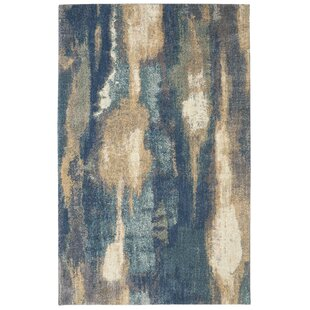 Berkshire Wendall Blue Area Rug. By Mohawk Home