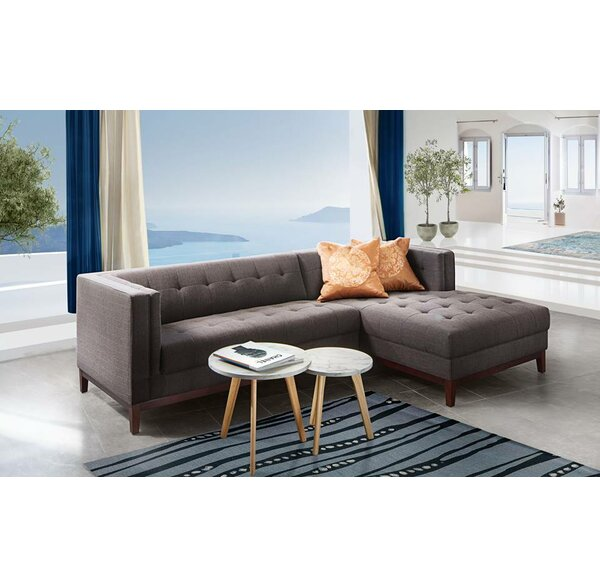 Manhattan Sectional by Diamond Sofa