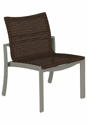 Kor Woven Patio Dining Chair by Tropitone