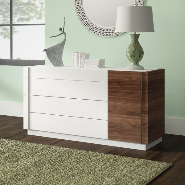 Cretys 4 Drawer Dresser by Brayden Studio