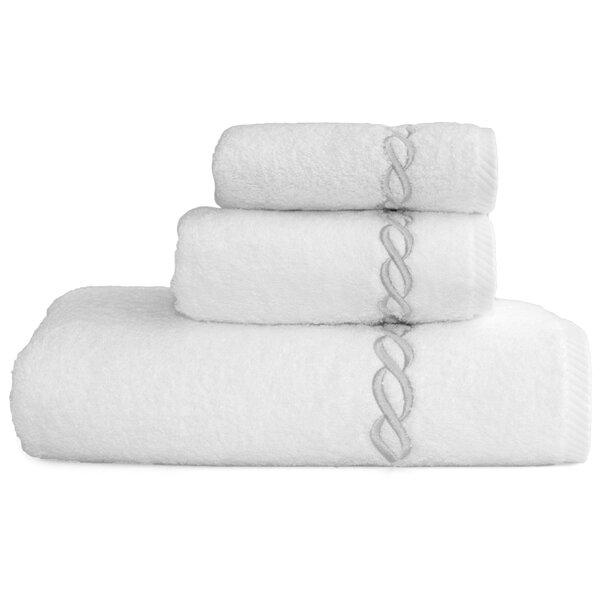 Cadena Soft Twist 3 Piece Turkish Cotton Towel Set by Linum Home Textiles