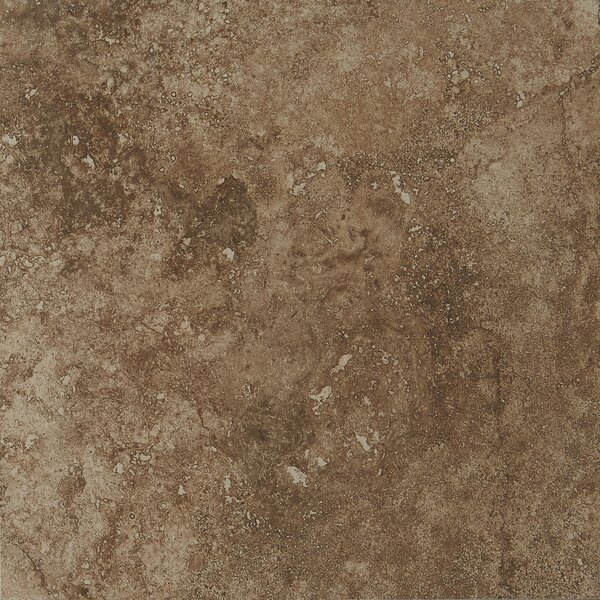 Aguirre 12 x 12 Porcelain Field Tile in Moka by Itona Tile