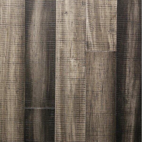 5 Engineered Bamboo Flooring in Dovetail Gray by Islander Flooring