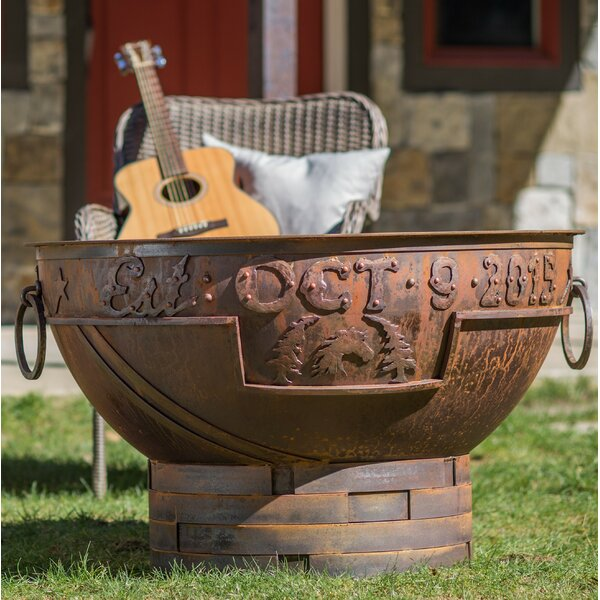 Legacy Steel Fire Pit by Cedar Creek Sculptures
