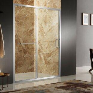 Regent 48 x 72 Single Sliding Framed Shower Door