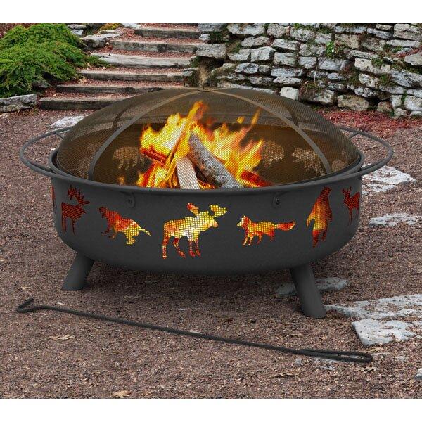 Super Sky Steel Wood Burning Fire Pit by Landmann