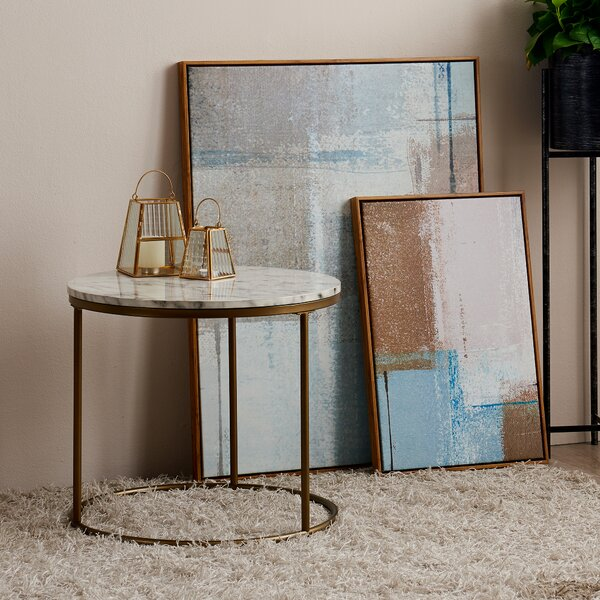 Carbone Frame End Table By Mercer41